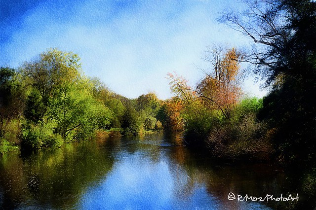 Beside a Flowing River...