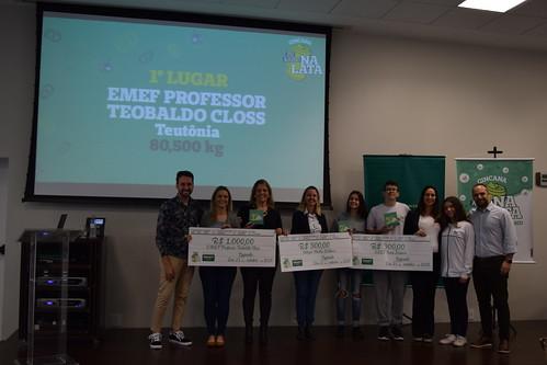 Premiação Gincana Eu Ajudo Na Lata 2019