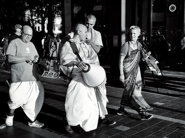 Krishna in the Streets
