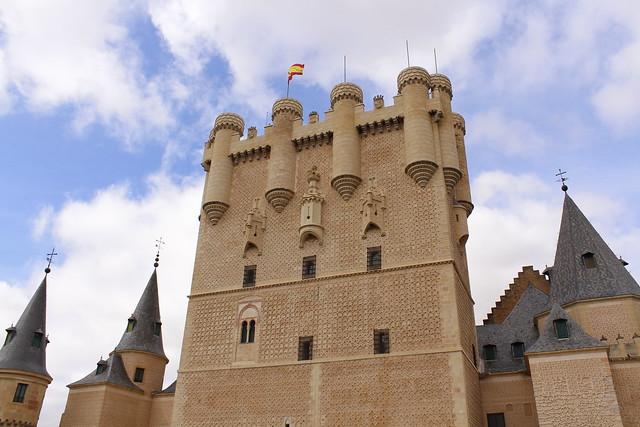 El Alcázar de Segovia (Torre central):