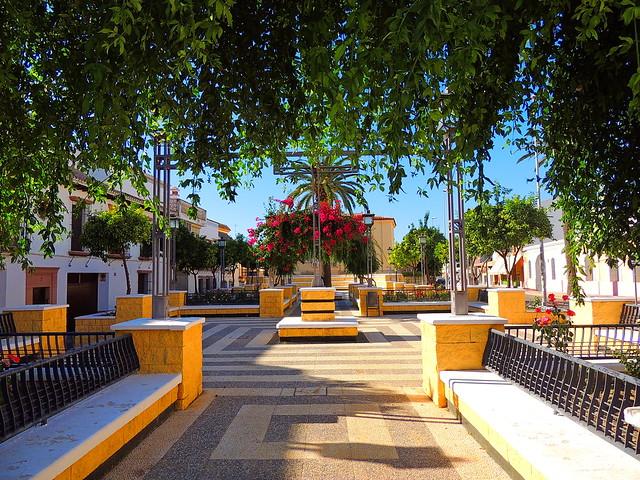 <Plaza Juán Díaz de Solís> Lebrija (Sevilla)