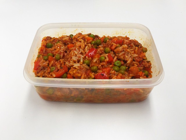 Rice pot bolognese - Leftovers / Bolognese-Reistopf - Resteverbrauch