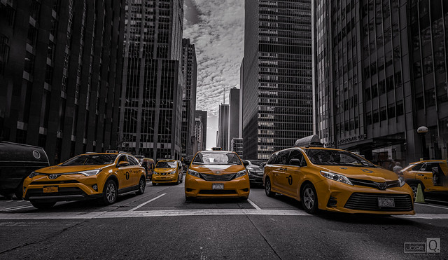 Made in New York.  (Taxi...)