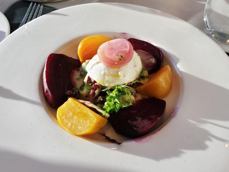 360 Restaurant beet salad