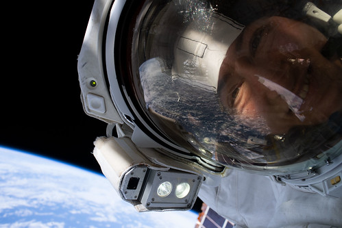 "NASA astronaut Christina Koch takes an out-of-this-world ""space-selfie"" 