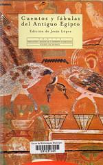 Jesús López, Cuentos y fábulas del antiguo Egipto