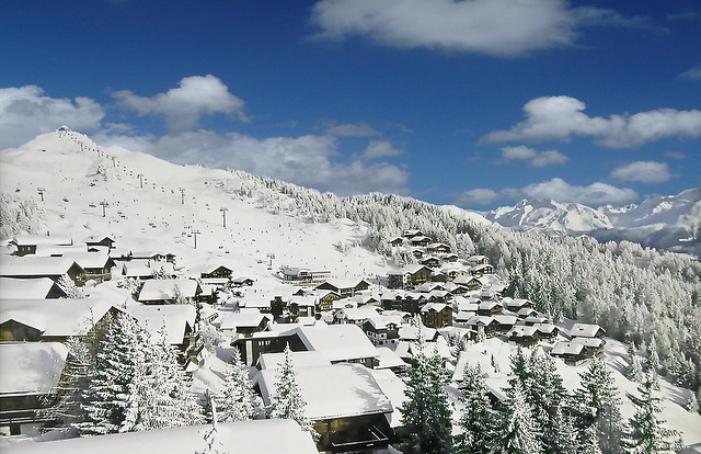 SWITZERLAND - Bettmeralp and ski slopes