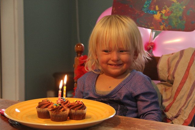 Aiste's second birthday