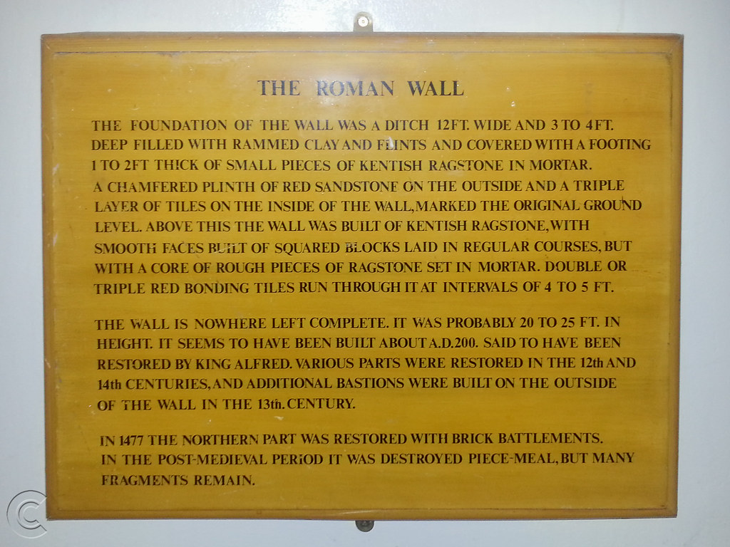 Roman Wall House information panel