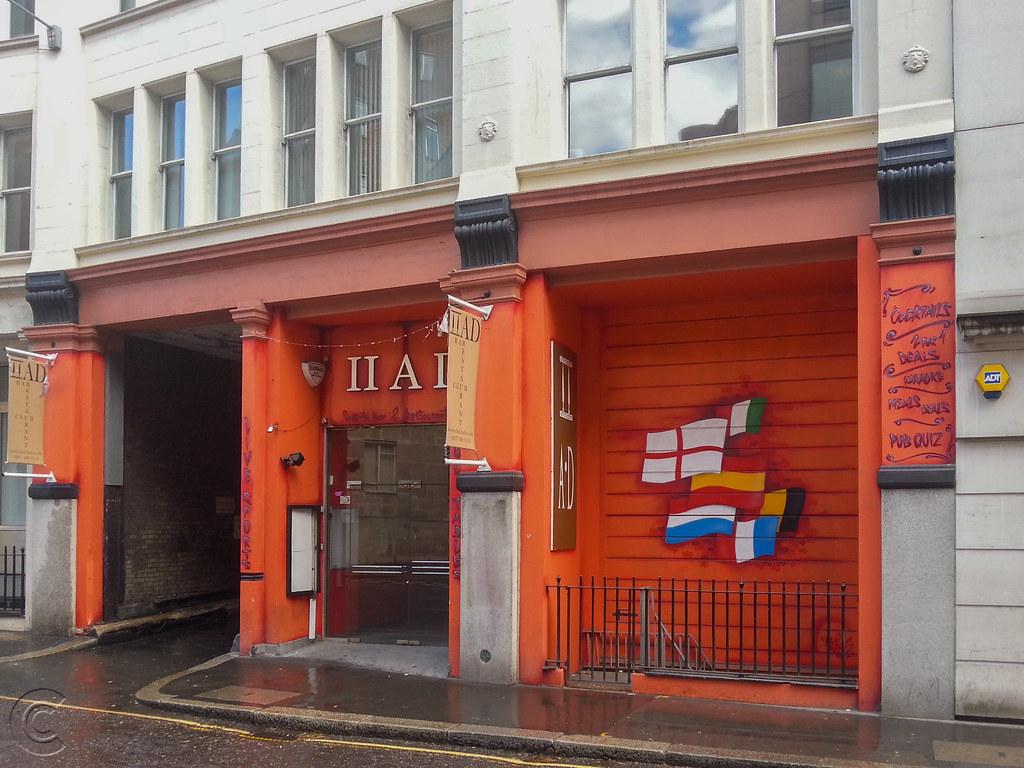 Late bar and nightclub II AD, Crutched Friars, London, EC3