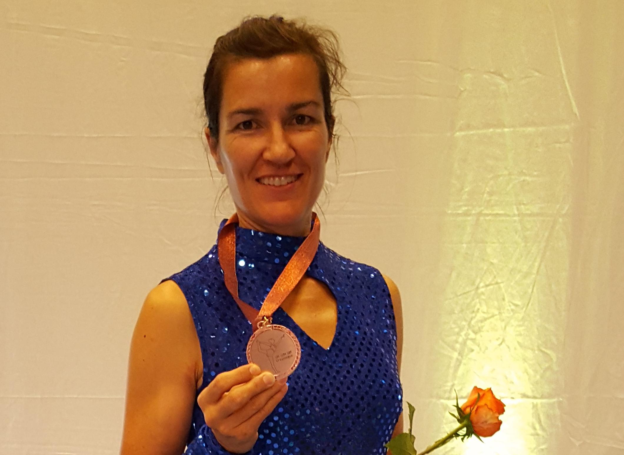 3. Rang für Sabina Geiser an den SM Gymnastik Einzel
