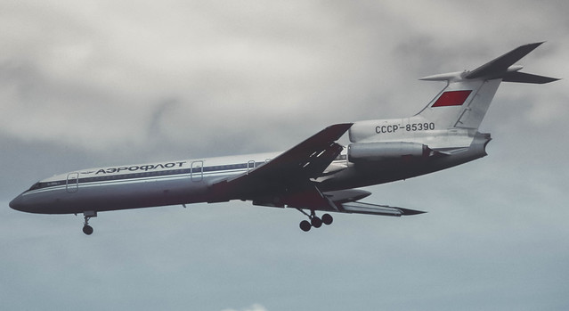 CCCP-85390 Aeroflot Tupolev Tu-154B-2 @ ARN 1986