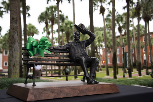 John B. Stetson Statue Dedication