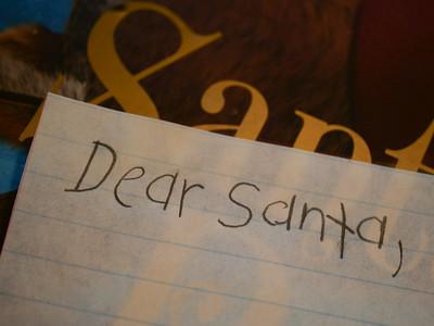 Letter to Santa [MacroMondays] [Stationery]