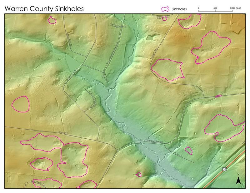Warren County Sinkholes