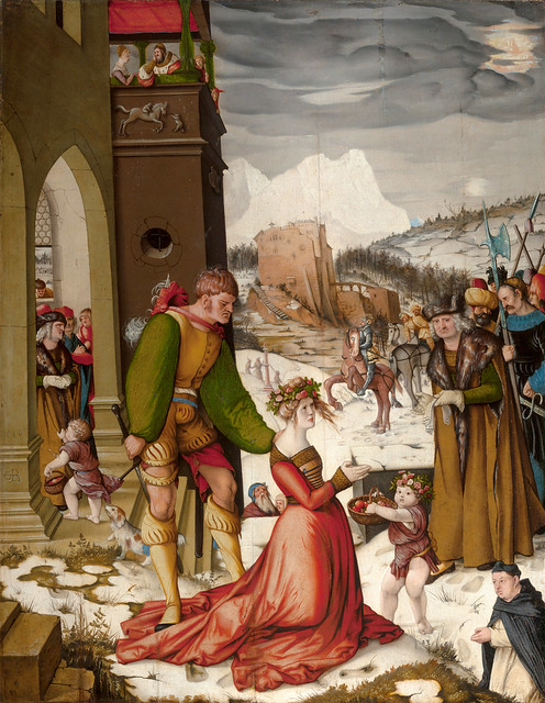 Beheading of Saint Dorothea