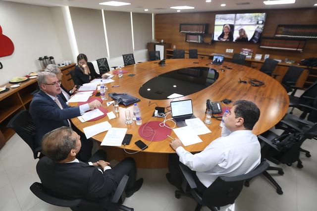 21.10.2019 - Reunião da Coordenadoria de Estudo e Regulamentação da Criminalização da Violação das Prerrogativas do Advogado