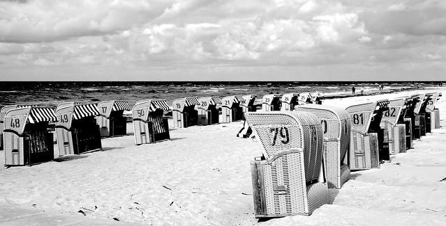 Am Strand von Timmendorf