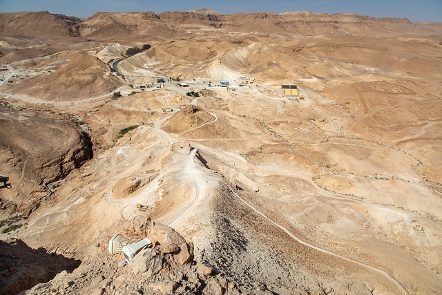 View from the Plateau of Masada