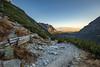 Mengusovská dolina - Ostrva