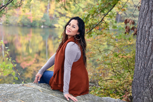 Picture Of Carolina Taken During A Fall Photoshoot At Bear Mountain State Park In Highland Falls New York. Photo Taken Sunday October 20, 2019