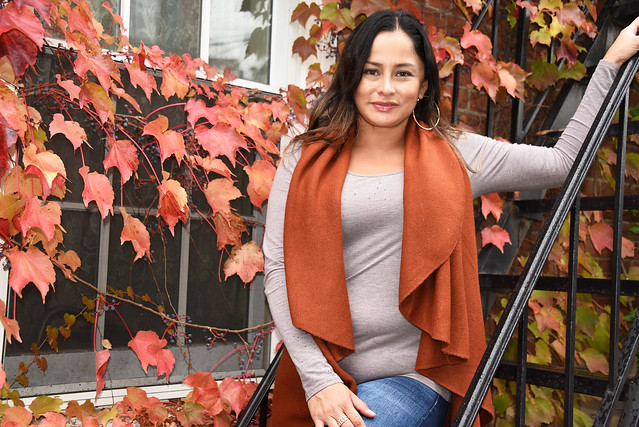 Picture Of Carolina Taken During A Fall Photoshoot In Cold Spring New York. Photo Taken Sunday October 20, 2019