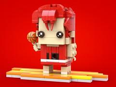 屈辱は10倍にして返すぜじじい!!  #brickheadz #出賣年齡系列 #桜木花道 #スラムダンク #slamdunk #井上雄彦 #sakuragihanamichi #バスケットボール #湘北 #バスケ #天才的な能力 #lego #legomocs #legomoc #legos #legobricks #bricks #legophoto #legoart #moc #legocreation #legostagram #legophotography #legography #legogr