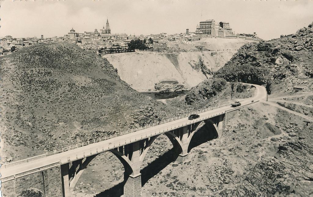 Puente de la Degollada en los años 40