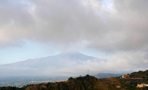 Etna Pre Breakfast View