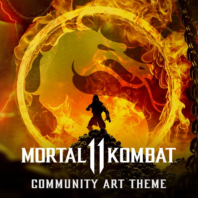Mortal Kombat 11 Kommunity Art Theme by Bosslogic