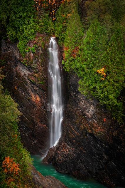 Baker Lake Waterfall