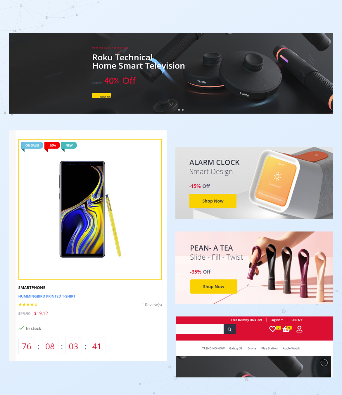 Leo Anoa Supermarket Prestashop Theme - Complete Solution for Upselling