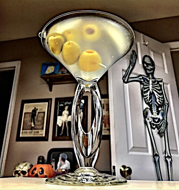 2019 294/365 10/21/2019 MONDAY -  Martini