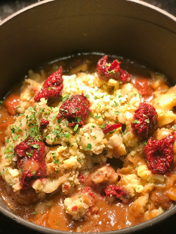 Lihapullat Muuilla Ja Puolukkahillolla: Meatballs, Tender Potato, Creamy Brown Jus and Cranberry Preserves