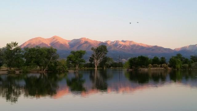 Mountains Mirrored
