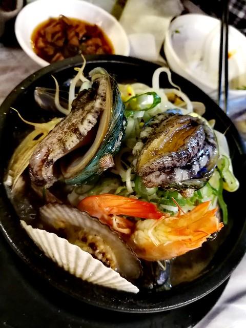 Abalone seafood pot