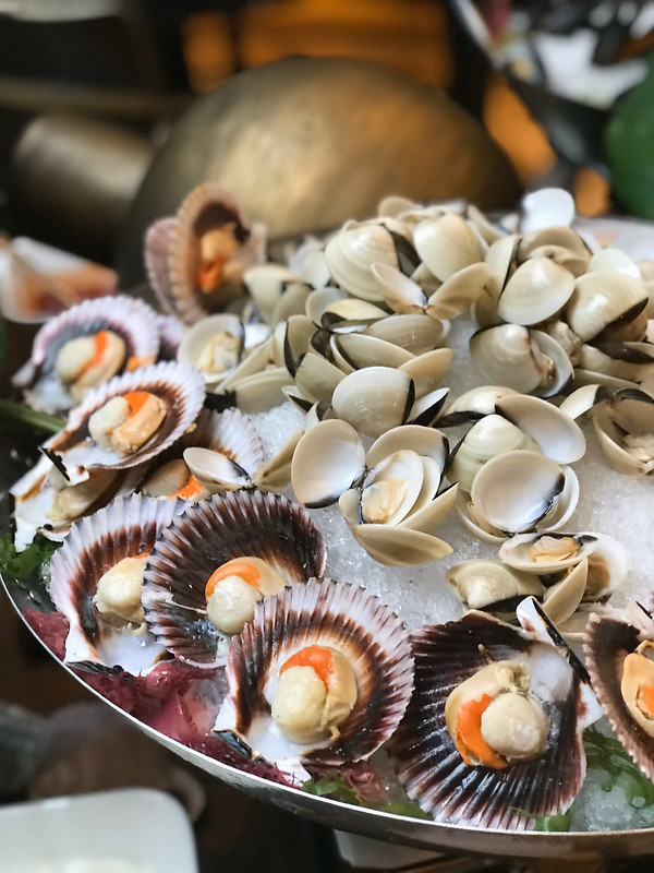 Scallops and Clams
