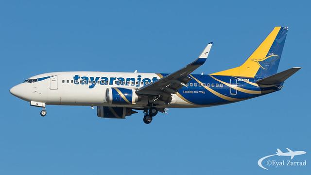 MXP - Tayaranjet Boeing 737-300 LZ-SIA