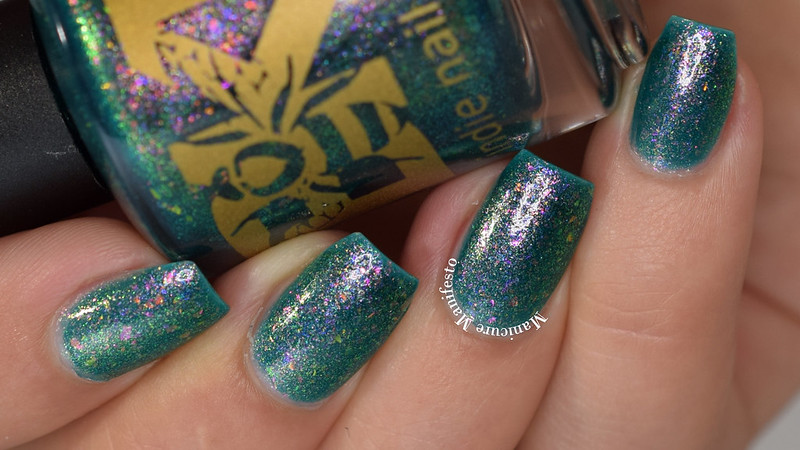Bees Knees Lacquer Get Your Buzz On! Swatch