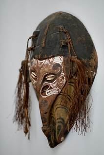 Sepik mask, New Guinea | by Joe Lewit