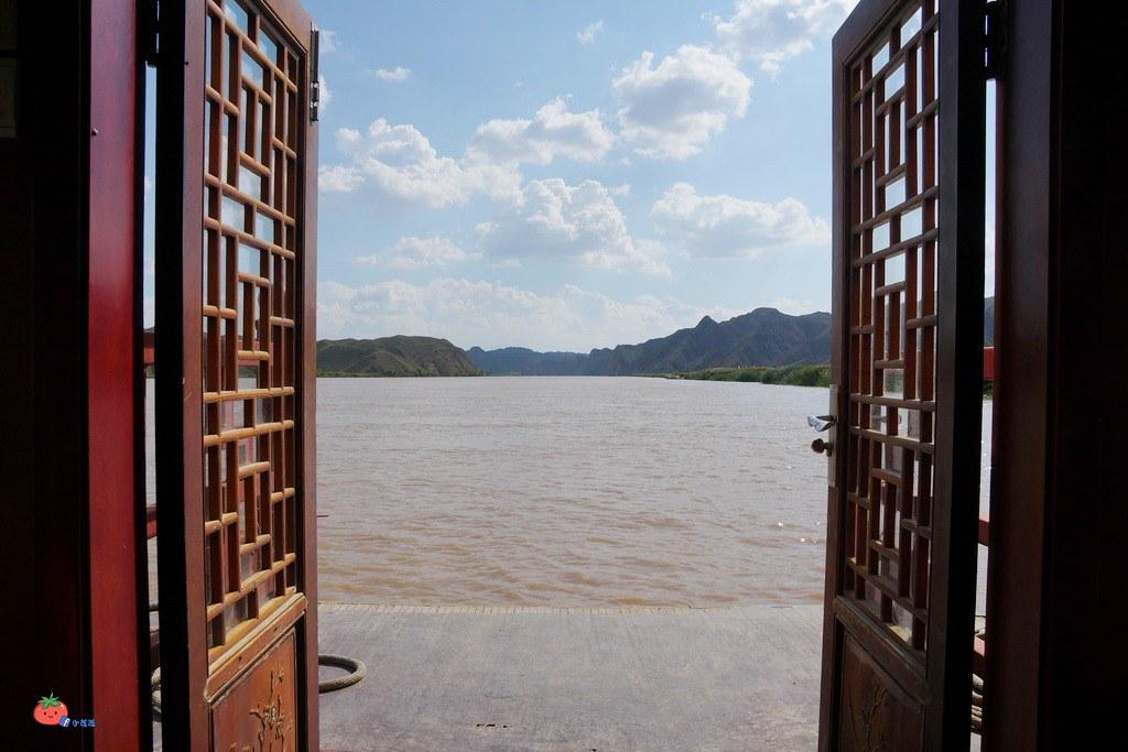 寧夏旅遊景點青銅峽黃河大峽谷