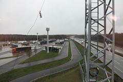 Ausblick vom Kontrollturm, A2 Richtung Hannover