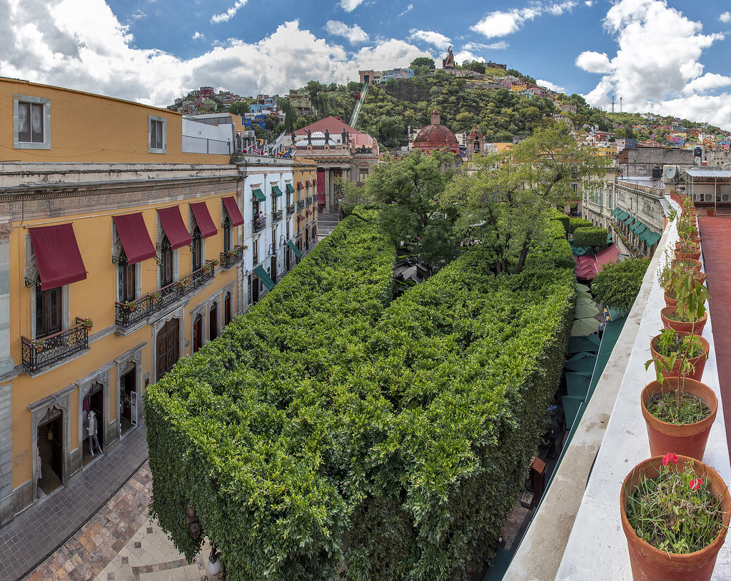 Jardin De La Union (Guanajuato, Mexico)