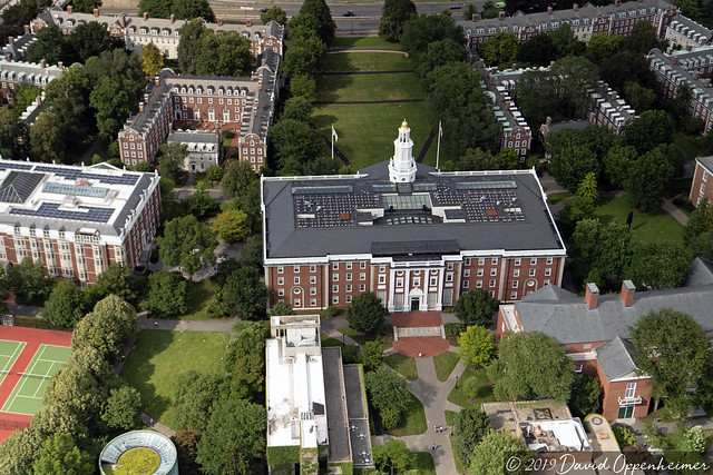 Harvard Business School at Harvard University Aerial