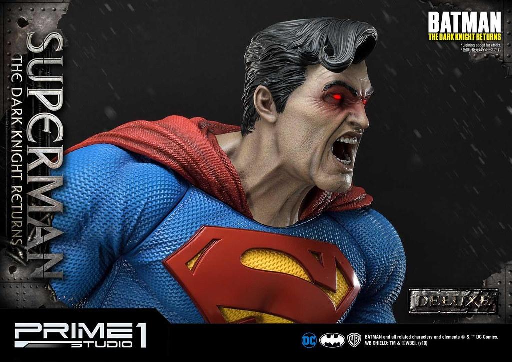 Prime 1 Studio DC Comics《黑暗騎士歸來》超人(ダークナイト ・リターンズ スーパーマン) 1/3 比例全身雕像 普通版/ DX版
