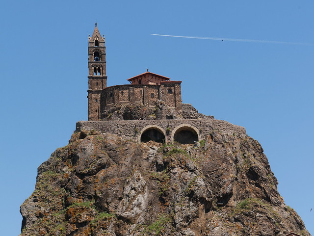 The chapel  on the rock
