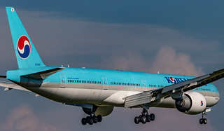 ZRH/LSZH: KoreanAir Boeing 777-3B5(ER) HL8041