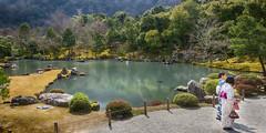 Tenryuji Temple Sogenchi Garden