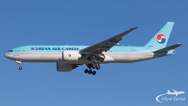MXP - Korean Air Cargo Boeing 777-200 Freighter HL8044