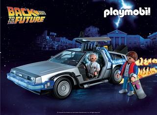 堂堂35週年紀念! Playmobil《回到未來》主題新作將於 2020 年推出,全新宣傳短片發表!